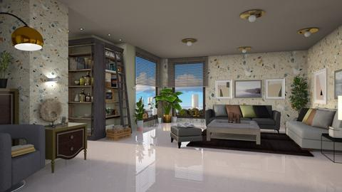 Barton - Modern - Living room - by ZsuzsannaCs