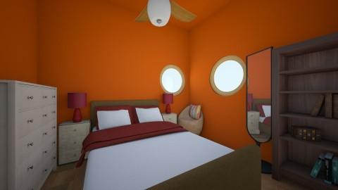 Wild like Africa - Bedroom - by Blueflamingo