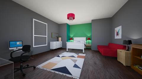 my room - Modern - Bedroom - by hmo2614