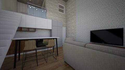 Cabaninha da magia - Living room - by Bregina Reg