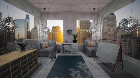 Artsy City Apartment - by katherinehartman