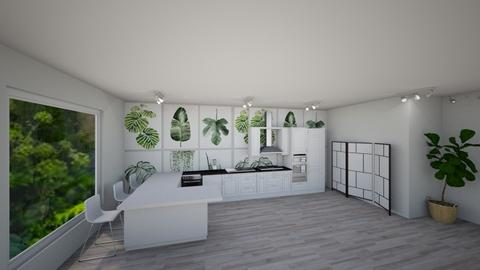 Citizen OAK - Minimal - Kitchen - by baileyhintze