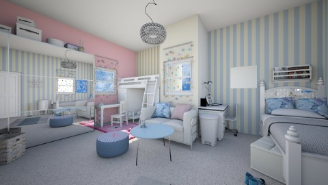 Shared Bedroom - Modern - Kids room - by kashanka