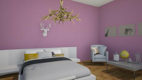 Golden Rust - Modern - Bedroom - by ElRoRo23