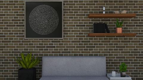 Minimalist - Minimal - Living room - by cutebaxter123
