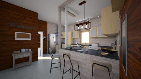 east main st - Kitchen - by jdenae3