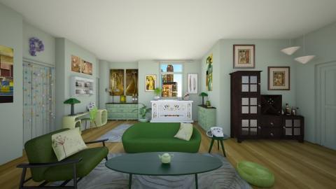 Phoebe Buffay - Retro - Living room - by deleted_1524667005_Elena68