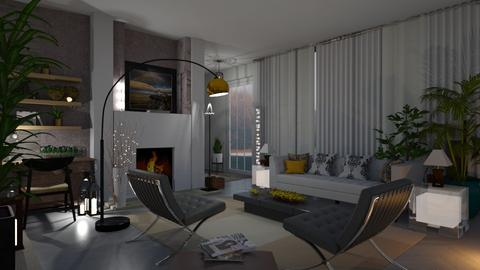 Mid Century Modern Living - Modern - Living room - by Sue Bonstra