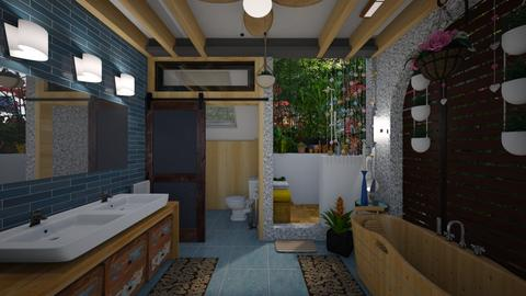 in and out bathroom - by Conchy