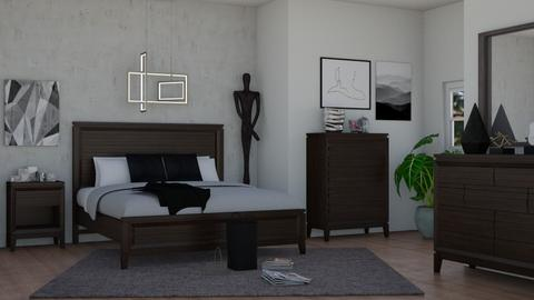mid century modern bed - by Joanne Galle_680