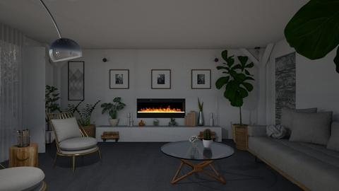 plants - Living room - by mayssaltf