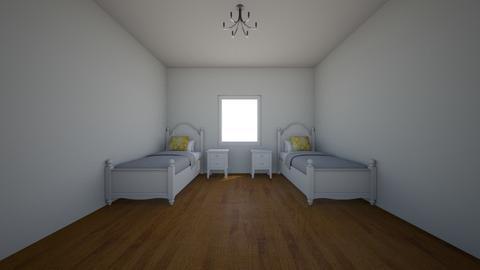 Girls bedroom unfinished - Feminine - Bedroom - by Divine Design