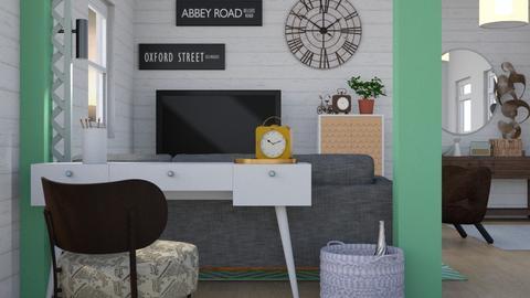 Urban Modern - Modern - Living room - by Jessica Fox