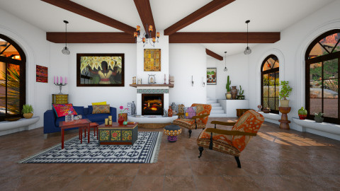 Casa - Classic - Living room - by evahassing