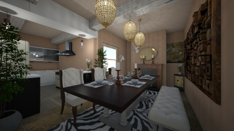 Kitchen - by Dream Interior