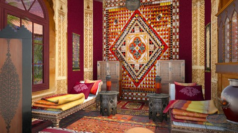 morrocan - Eclectic - Bedroom - by syeclemente