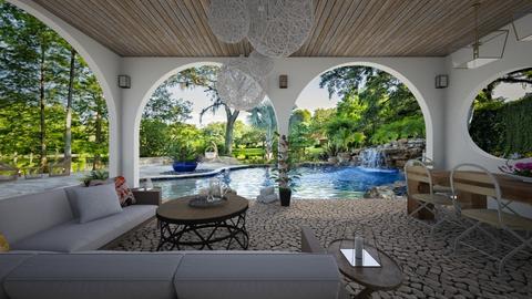 Pool Design 2 - Garden - by Sarah Anjuli Gailey