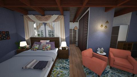 caoba room - Bedroom - by cristina72