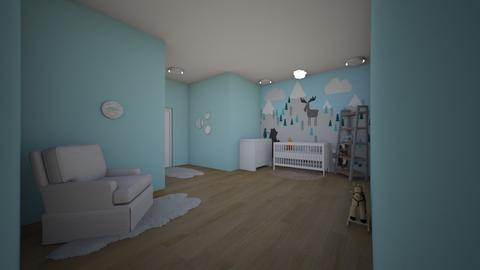bv - Kids room - by irishsky