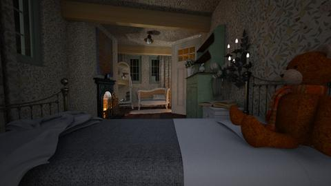 Vintage French Bedroom - Vintage - Bedroom - by HenkRetro1960