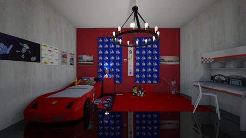 house 3 - Bedroom - by guyciara87
