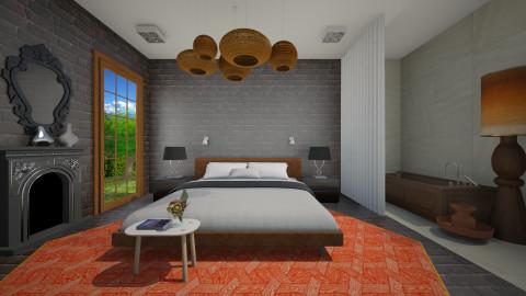 Eclebed - Eclectic - Bedroom - by 3rdfloor