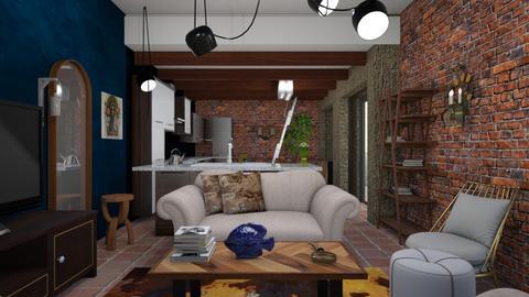 Helen - Living room - by The quiet designer