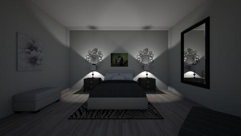 Staged Bedroom - Glamour - Bedroom - by Lcusic