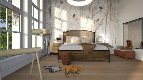 Bird Cage - Bedroom - by ZuzanaDesign