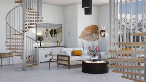 Aspen Chalet Template - Living room - by BortikZemec