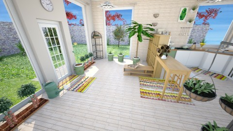 Raw Garden Supreme 2 - Kitchen - by DesignByBejay
