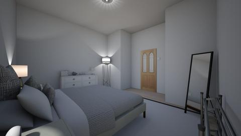 3 - Minimal - Bedroom - by kathop