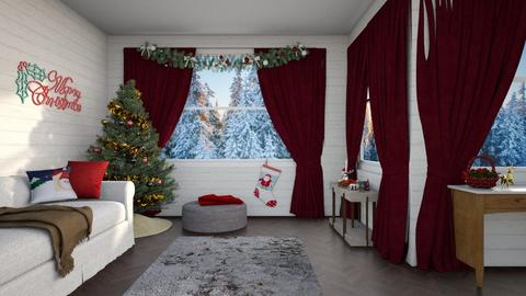 Christmas - Living room - by Louise Hedlund