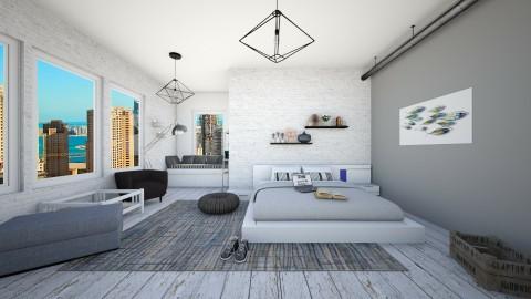 bedroom - Vintage - Bedroom - by karla997