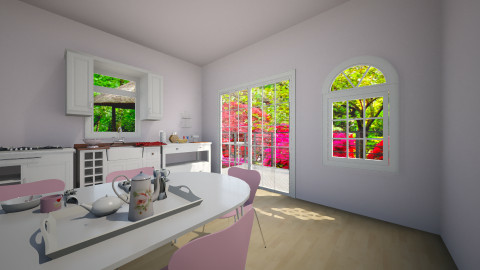 spring - Retro - Kitchen - by franciss