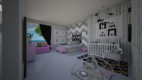 white charm - Kids room - by flacazarataca_1