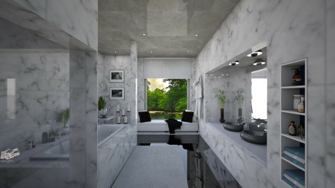 Marble - Bedroom - by Linda Koen_326