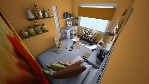 Erin Bedroom - Bedroom - by claudiairis04