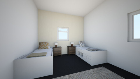 House one Twins bedroom 2 - Bedroom - by Gelpips
