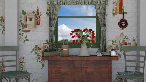 Spring Kitchen - Kitchen - by Sue Bonstra