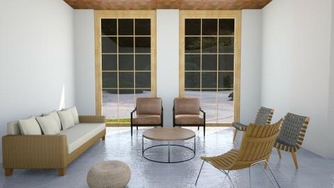 Living Zen - Living room - by cervidaeus