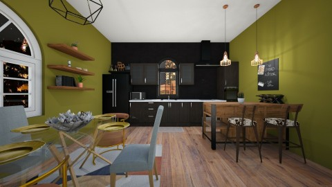 Urban Kitsch - Kitchen - by cmucklane