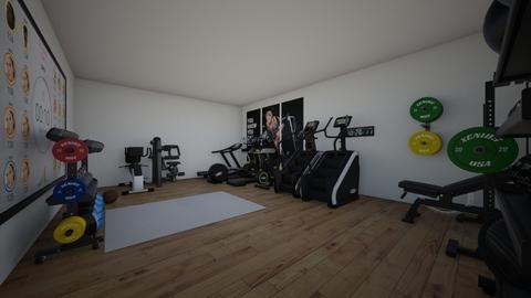Gym - by EllaRyd