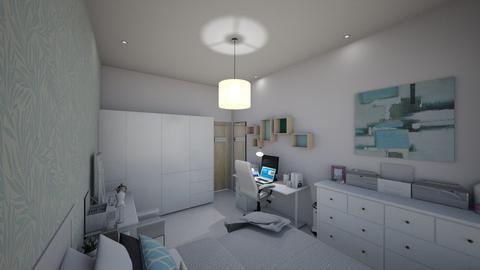 Vivians bedroom 5 - Modern - Bedroom - by Vivianhsuan