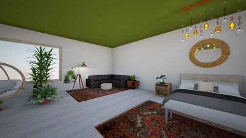 jungle bed - Modern - Bedroom - by urbanlife