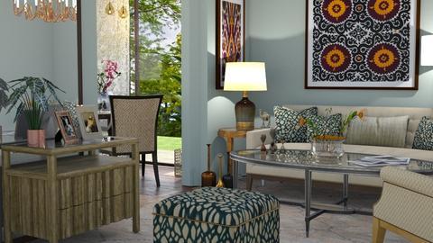 M_ Carson - Living room - by milyca8