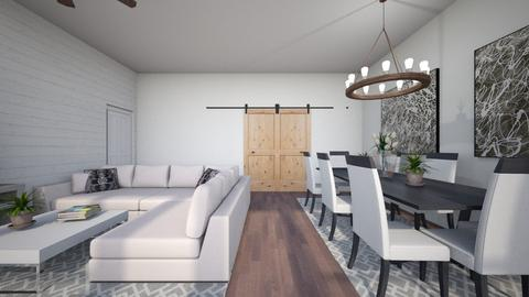 Abna small nook area - Classic - Living room - by chloe_mccarty