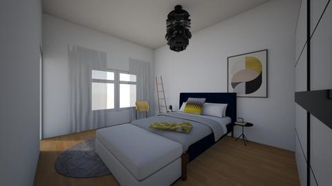 slaapkamer 1 - Modern - Bedroom - by Huisk1