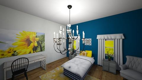 Sunflower - Bedroom - by hlk