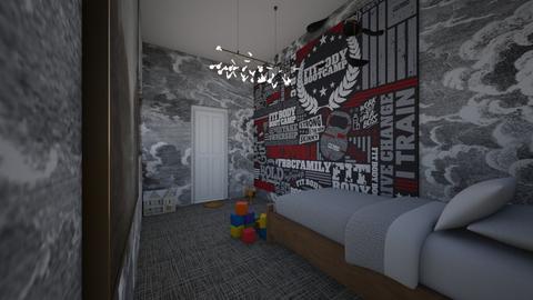 Happy Place - Modern - Kids room - by Zombiecat